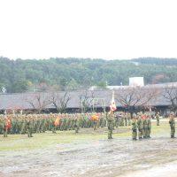 金沢駐屯地創立61周年記念行事